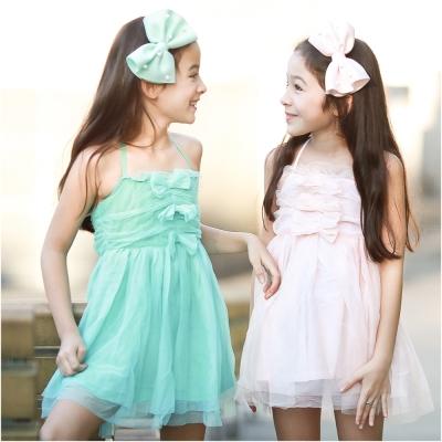 baby童衣 蕾絲綁帶露背連身洋裝 42153