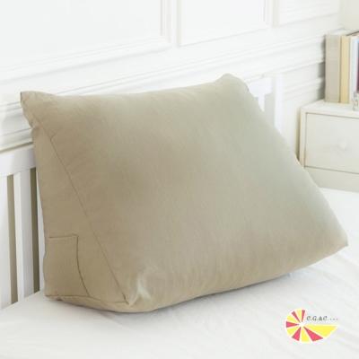 凱蕾絲帝-台灣製造-得體多功能加大舒壓美腿枕/抬腿枕/靠墊-茉綠秋香(<b>1</b>入)