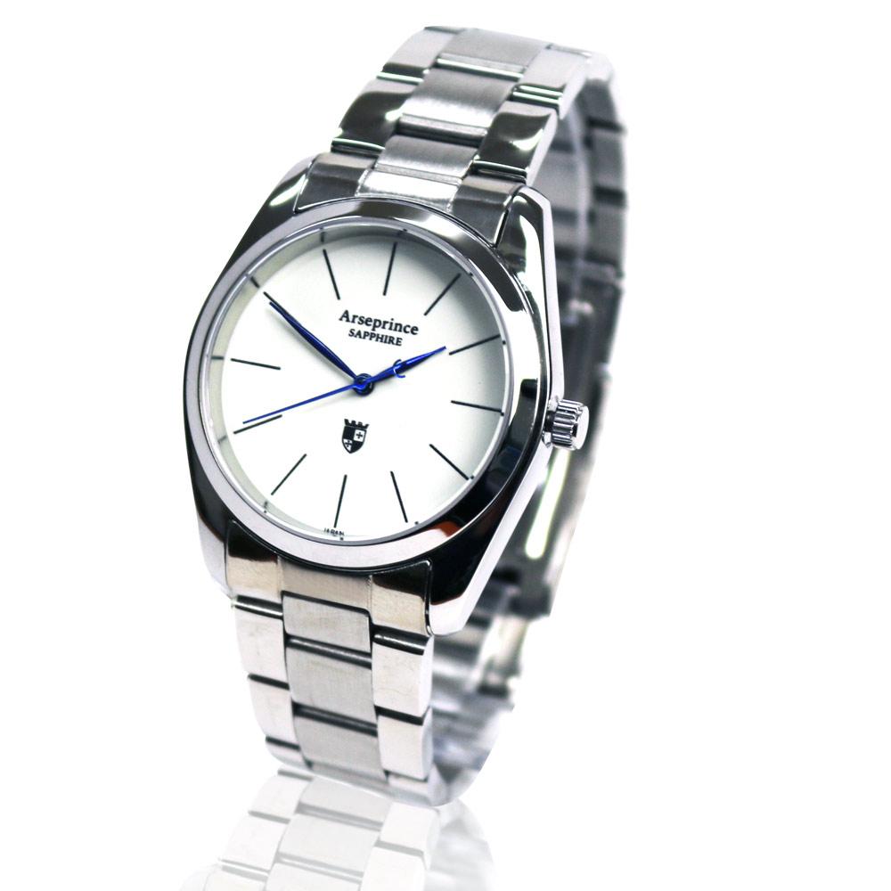 Arseprince 藍調冷光極簡風格中性錶