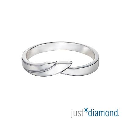 Just Diamond 深情華爾滋 男女對戒-男戒