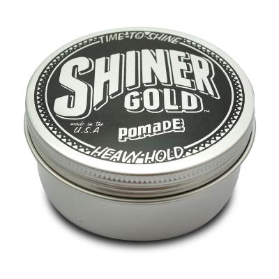 Shiner Gold Heavy Hold水洗式髮油(強度款/高黏性)黑113g