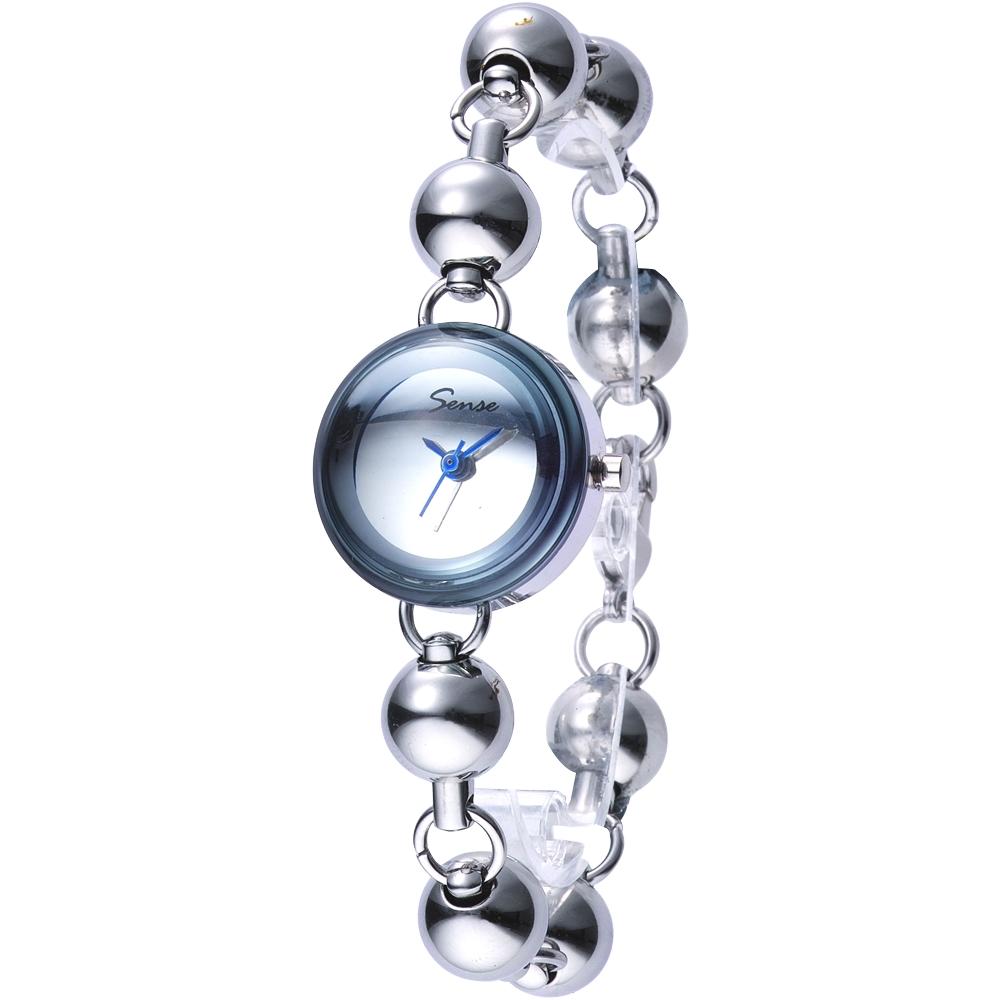 Sense 夢幻水晶球珠鍊錶-30mm