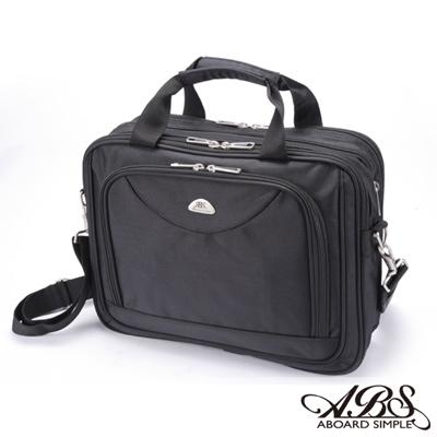 ABS愛貝斯 經典風尚 可擴充容量 商務15吋筆電公事包(百搭黑)02-029