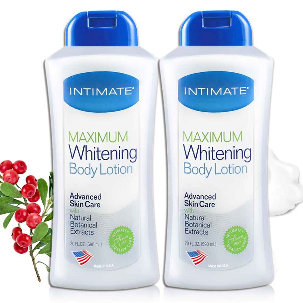 美國Intimate愛誘關係極致美白身體乳液590ml二入