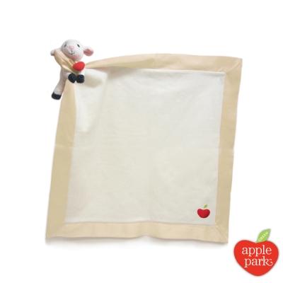 【美國 Apple Park】有機棉玩偶隨身毯 - 小羊
