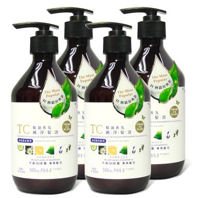 TC系列 精油香氛純淨髮浴(500ml)4入組