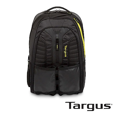 Targus Work + Play 網球拍運動後背包(黑黃/15.6 吋筆電適用)