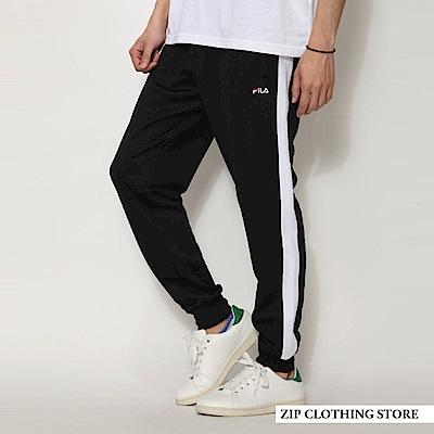 側邊線條運動褲休閒褲(6色) ZIP日本男裝