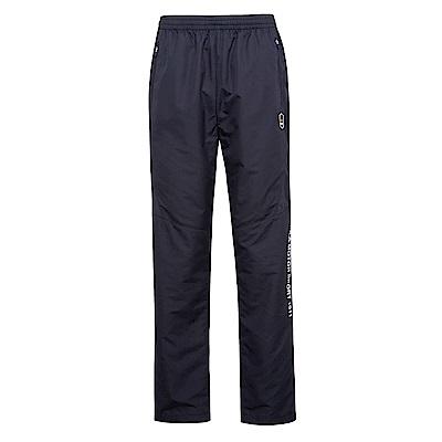 FILA 男抗UV風衣長褲-黑 1PNS-1451-BK