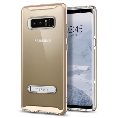 Spigen Galaxy Note 8 Crystal Hybrid-立架透明...