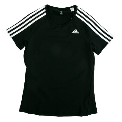 Adidas-愛迪達BASIC-3S-短袖上衣-女