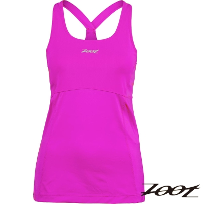 ZOOT 專業級美背式緊身運動背心(女)(桃紅) Z1504002