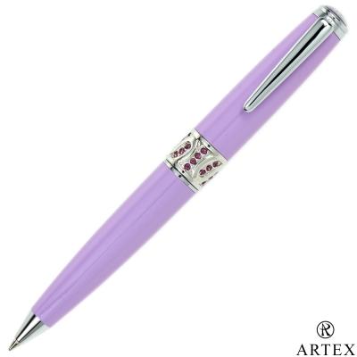ARTEX 葛莉絲水鑽短版原子筆 紫