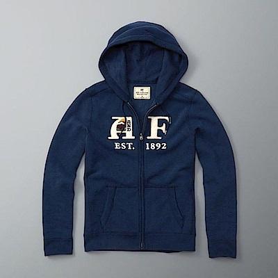 AF a&f Abercrombie & Fitch 外套 藍色 0538