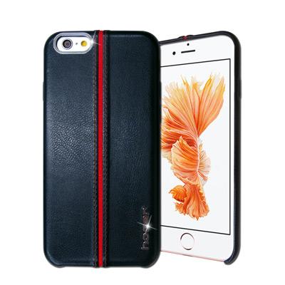 HOCAR iPhone 6s / 6 4.7吋 爵士皮革保護手機殼(摩藍)