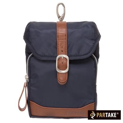 PARTAKE-A5系列-休閒腰掛包-藍-PT15
