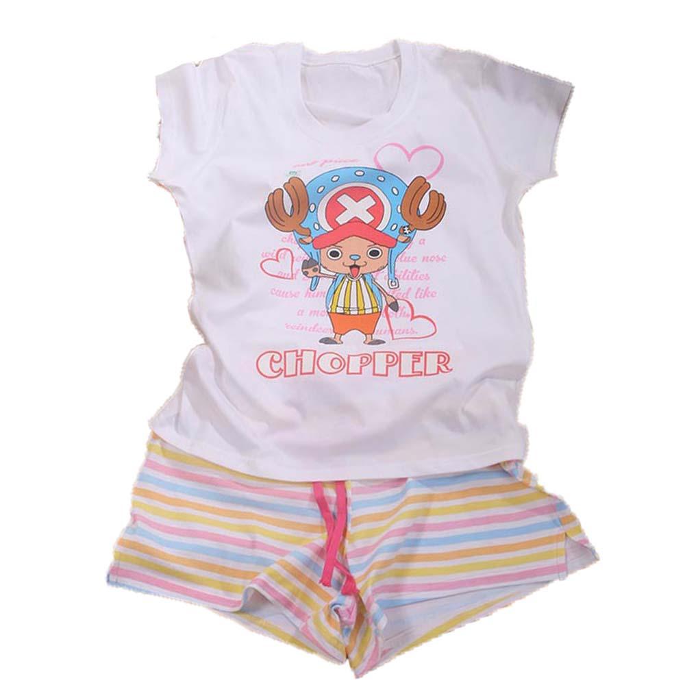 魔法Baby台灣製航海王女童套裝 k41699