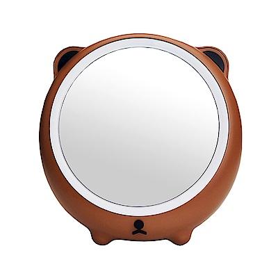 森林萌熊 LED補光化妝鏡