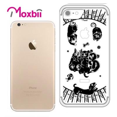 Moxbii iPhone 7 4.7吋 simpOcase光雕殼-狗狗當家