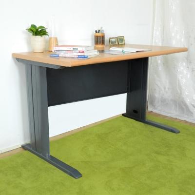 時尚屋 CD120木紋辦公桌 寬120cm-DIY