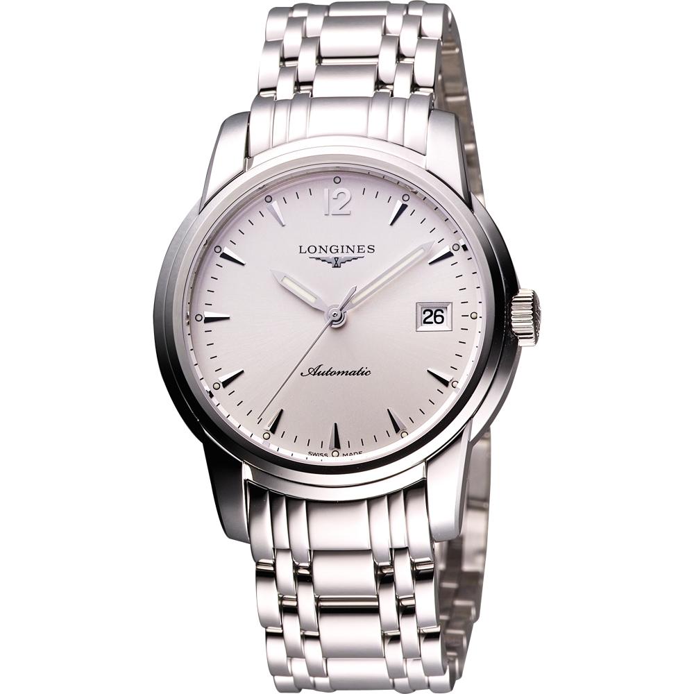LONGINES Saint-Imier 機械腕錶-銀/39mm