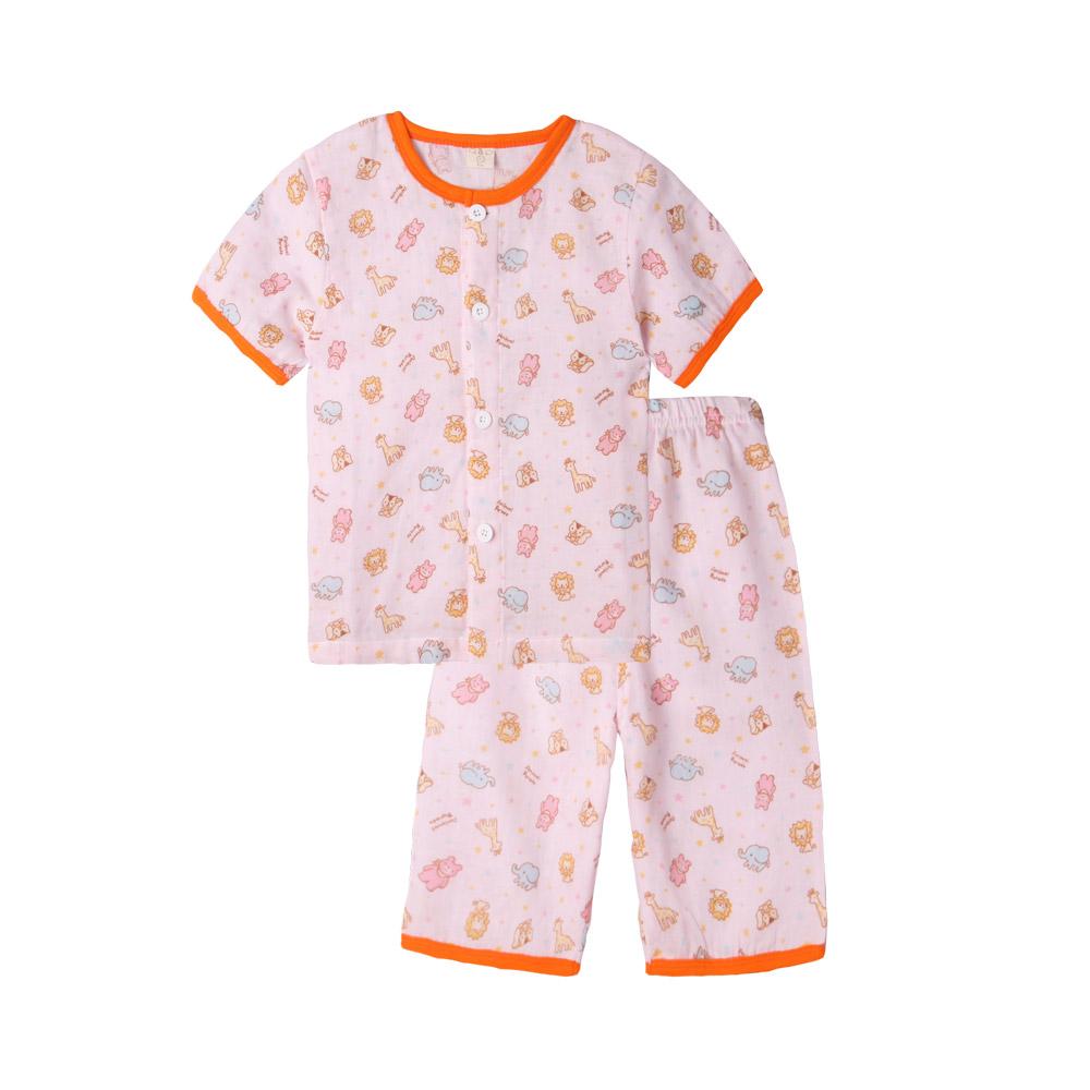 baby童衣 兒童套裝 薄涼透氣卡通居家服 51008 product image 1