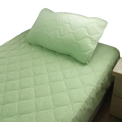 bedtime story 舒適繽紛彩虹保潔墊-綠色-單人加大3.5尺平單式