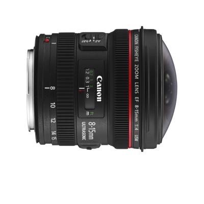 CANON EF 8-15mm F4 L fisheye USM 超廣角變焦鏡頭*(平輸)