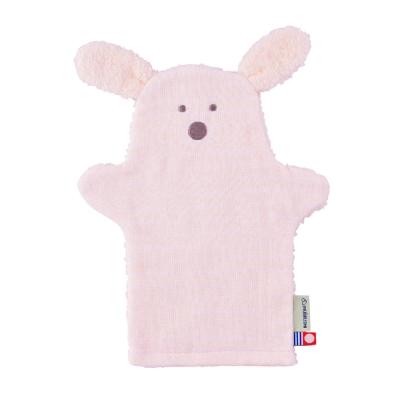 日本犬印 可愛動物無撚洗澡手套 共3色