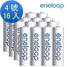 日本Panasonic國際牌eneloop低自放電充電電池組(內附4號16入)