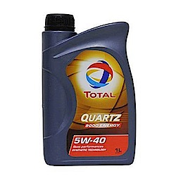 【TOTAL】 5W-40 合成機油經濟保養套餐(含安裝+機油精) 四入