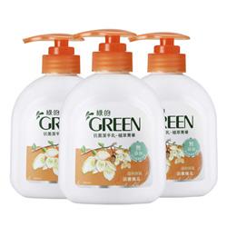 綠的GREEN 抗菌潔手乳-植萃精華 清雅槐花(400ml*3入特惠組)