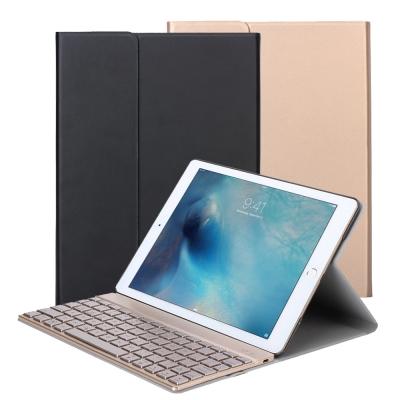 iPad Pro(9.7吋)/Air 2專用分離式鋁合金超薄藍牙鍵盤/皮套