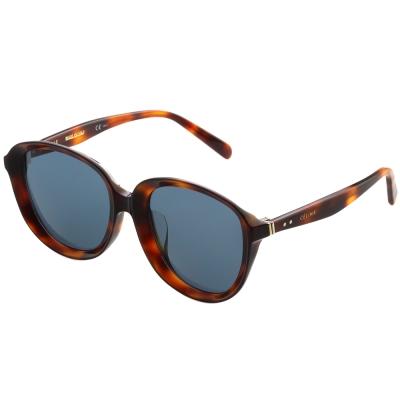 CELINE-復古內凹 太陽眼鏡 (琥珀色)CL41453
