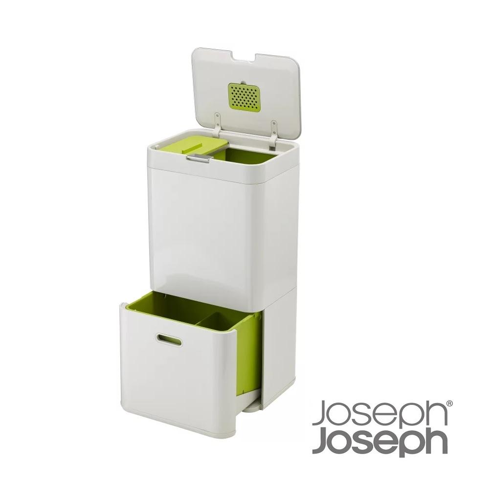Joseph Joseph 聰明分類收納桶(白60L)