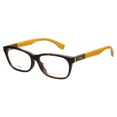 FENDI 時尚光學眼鏡 (琥珀色)FF1003