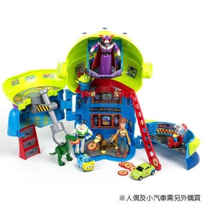TOMICA 玩具總動員 三眼怪 變身披薩星球組