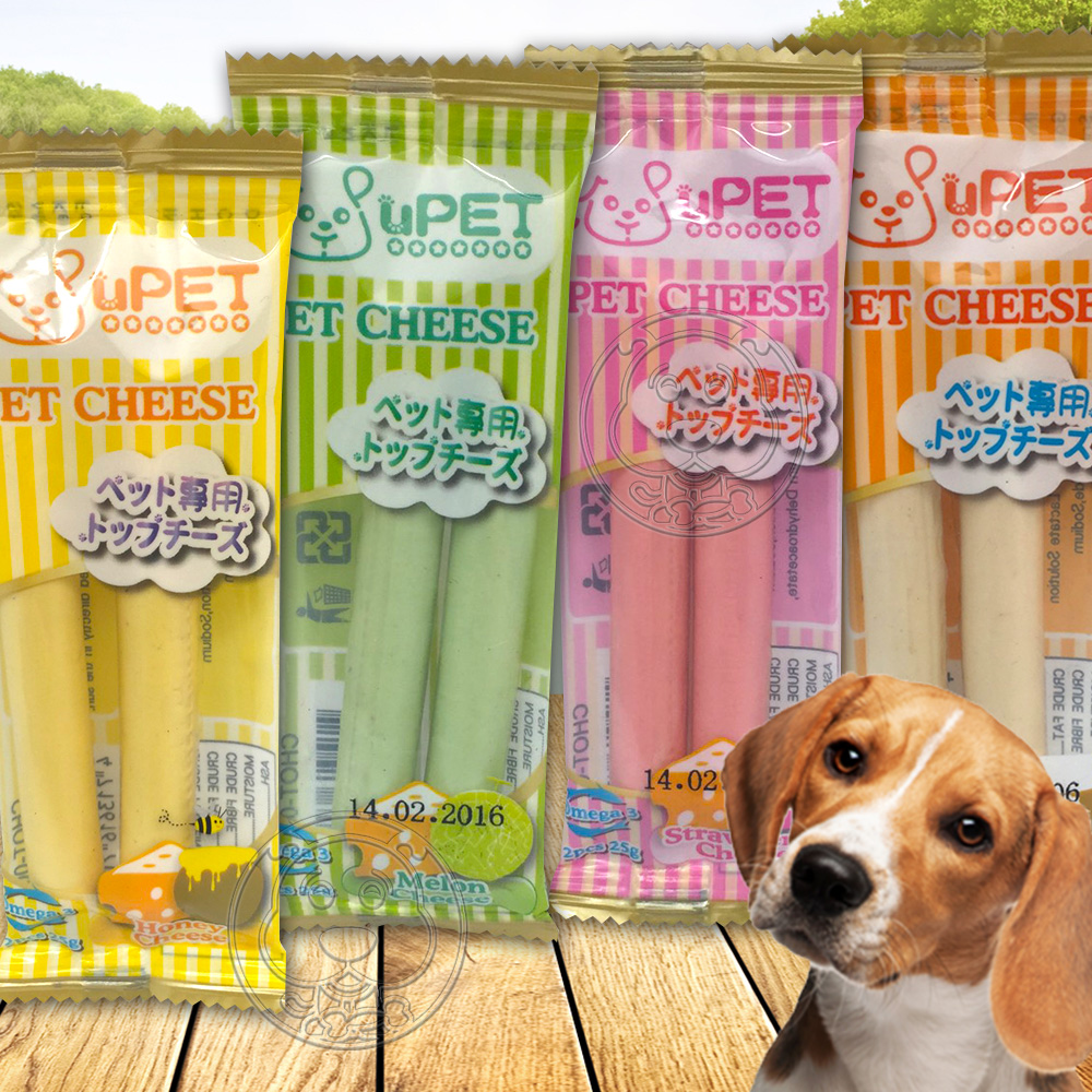 uPET優沛特》寵物起司風味條(多種口味)*1包