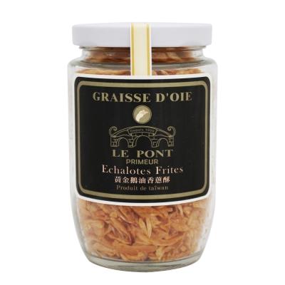 台灣LE PONT 黃金鵝油香蔥酥-黑牌(100g)