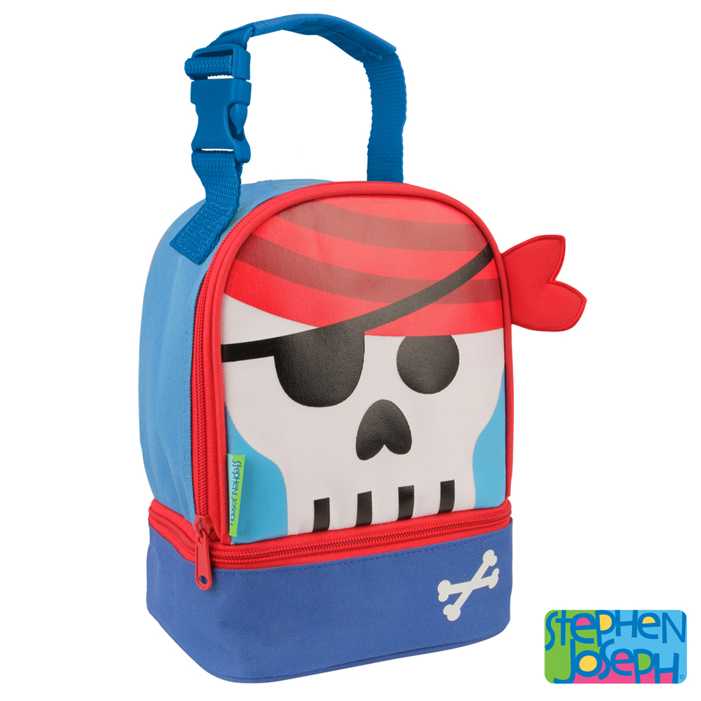 美國 Stephen Joseph 兒童動物造型便當袋 - 海盜