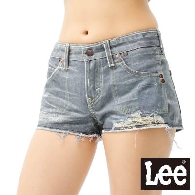 Lee牛仔短褲 INKMAX兩面穿短褲女款 LL120261799