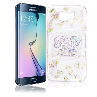 KikiLala Samsung Galaxy S6 Edge 透明軟式殼 天使...