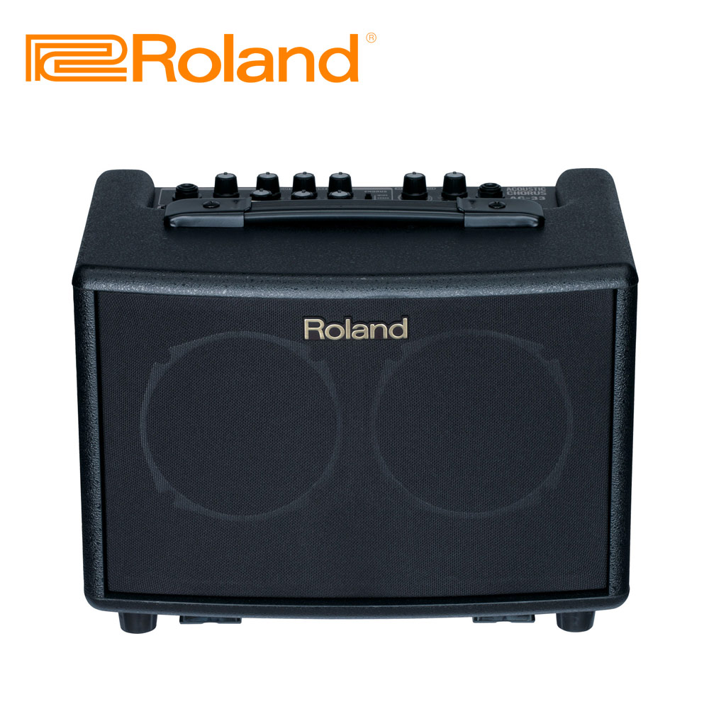 ROLAND AC33 BK 木吉他音箱 酷炫黑色款