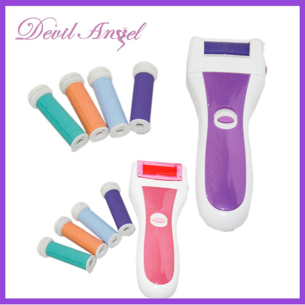 【Devil Angel 魅麗天使】足部美容按摩修護組(紫色/桃紅) 買一送一超值組