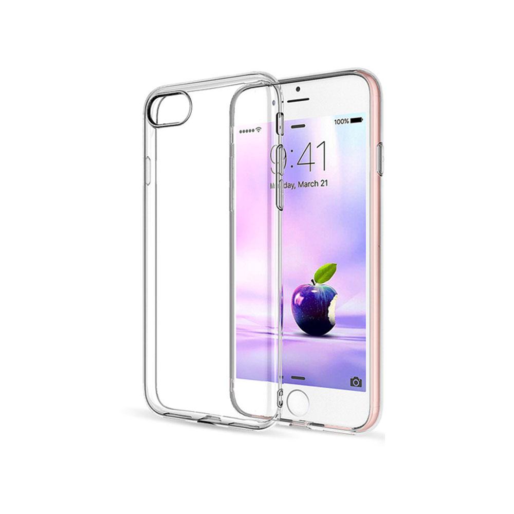 Bravo-u iPhone7 Plus 5.5吋輕薄隱形強化透明殼玻璃貼組(掛繩孔設計)