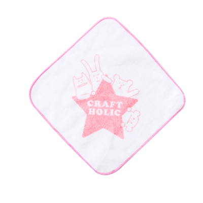 CRAFTHOLIC 宇宙人 幸福百分百小方巾