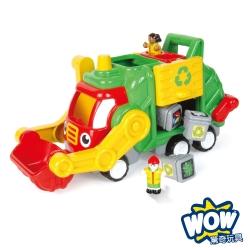 【WOW Toys 驚奇玩具】資源回收垃圾車-佛列德
