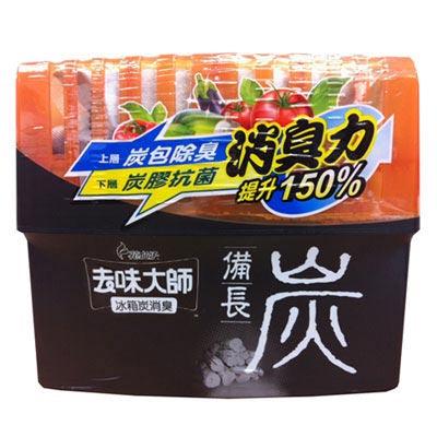 去味大師備長炭消臭易-冰箱專用150g
