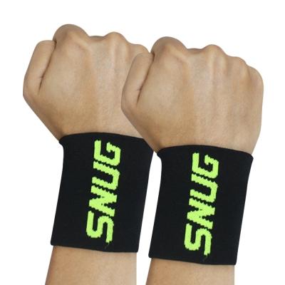 SNUG壓縮系列 涼爽壓力護腕-螢光綠(2入)