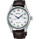 SEIKO 精工 Presage 6R15領導者機械腕錶(SPB039J1)-銀/40mm